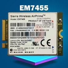 EM7455 4G LTE Módulo 00JT547 4G Cartão para Thinkpad T460 T460S T560 X1 Carbono P70 P50 X260 Laptop