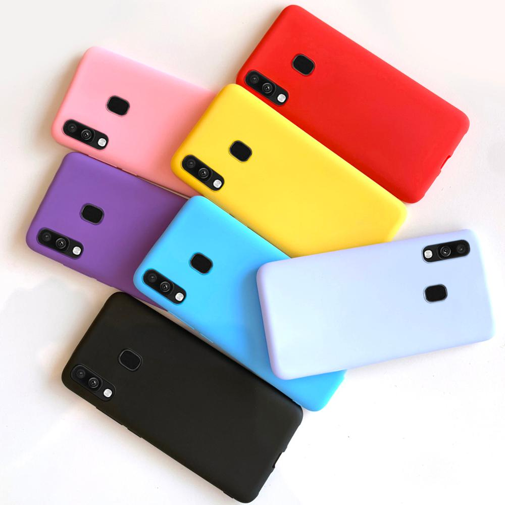 For <font><b>Samsung</b></font> <font><b>A20</b></font> A20e A20S Case Silicone TPU Soft Matte Cover Phone Case For <font><b>Samsung</b></font> <font><b>Galaxy</b></font> A20e <font><b>A20</b></font> A205F A205 A 20 e A202 Case image