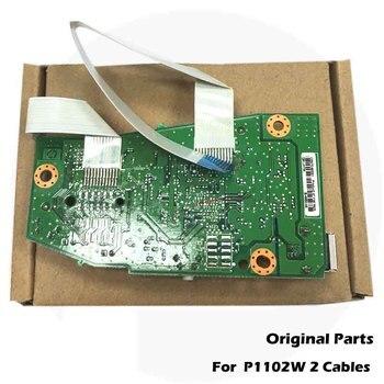 Original New For HP P1102W P1102 1102 1102W HP1102 HP1102W Main board Logic Board CE668-60001 RM1-7600-000 CE670-60001 original board formatter board for hp laserjet pro mfp m127 m128 m127fn m128fn cz183 60001 print parts