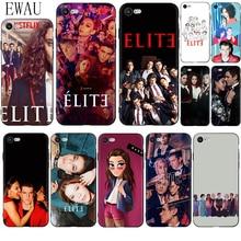EWAU Spanish TV series Elite Silicone phone case for iphone 5 5s SE 2020 6 6s 7 8 plus X XR XS 11 Pro Max spanish tv series elite protective tpu phone case for iphone x xs max 11 11 pro max 6 6s 7 7plus 8 8plus se 2020 xr coque