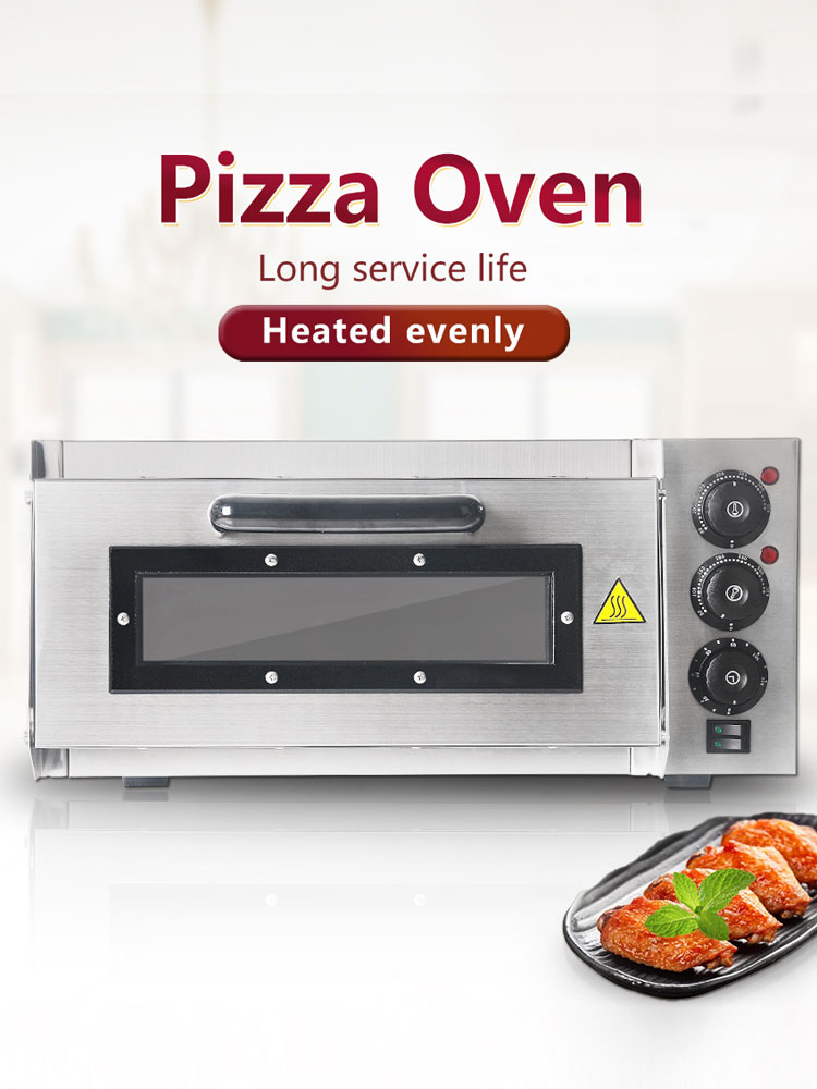 ITOP Baking Oven Timer Commercial Electric with 2KW Professional Cake/Bread/pizza Single-Layer