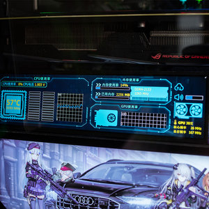 Image 4 - لتقوم بها بنفسك 1920 * 480HD IPS شاشة التحكم في درجة الحرارة عرض ديناميكي سطح المكتب AIDA64 سطوع قابل للتعديل للكمبيوتر التوت بي