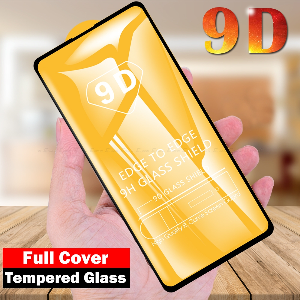 9D Full <font><b>Cover</b></font> Tempered Glass For <font><b>Samsung</b></font> Galaxy S10e <font><b>S10</b></font> Note 10 Lite <font><b>Screen</b></font> Protector Film Protective Glass image