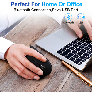 Image 5 - Jelly Comb Vertical Mouse Bluetooth 4.0 Wireless Mouse for Notebook 6 Button Ergonomic Mice for PC Laptop Computer Office
