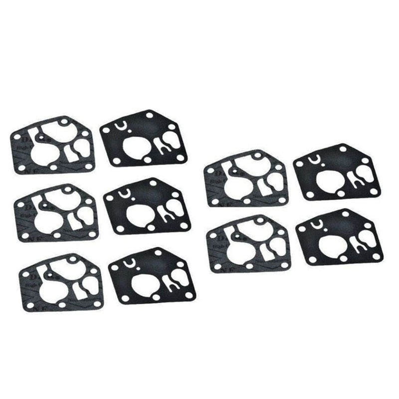 New 10pcs/set Replacement Practical Durable Carburetor Diaphragm Gaskets Fit For Briggs Stratton Sprint Classic Engines