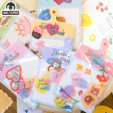 Stickers Scrapbooking Pet-Deco Bullet School-Supplies Office Mr.paper Kawaii Cute Minimalist
