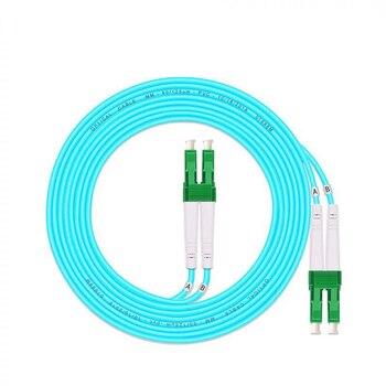 Free Shipping LC/APC-LC/APC Multi-Mode OM3 Fiber Cable Multimode Duplex Fiber Optical Jumper Patch Cord 3M 5M 10M15M 20M 25m