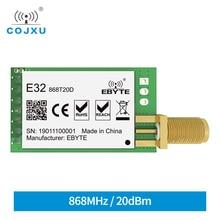 SX1276 TCXO 868MHz 20dBm LoRa UART Ebyte E32 868T20D Dài Khoảng Cách SMA K Cổng Kết Nối Thiết Bị Thu Phát Không Dây Module RF