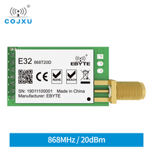 SX1276 TCXO 868MHz 20dBm LoRa UART Ebyte E32 868T20D Fern SMA K Stecker Sender Empfänger Wireless RF Modul
