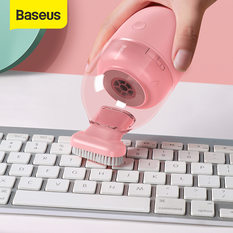 Baseus Mini Vacuum Cleaner 1000Pa 700Pa Wireless Vacuum Cleaner for Home Desktop Dust Clean Portable Small Vacuum Cleaner
