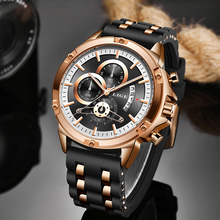 LIGE New Watches Mens Quartz Clock Top Brand Analog Military Male Watches Men Sp