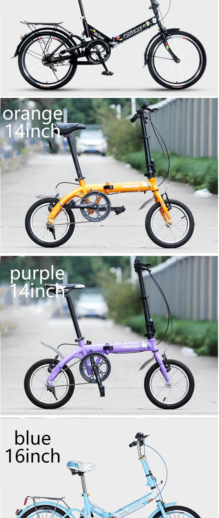 Hfb12cd7c39654e5c96a36f1d454bed7aY [TB01]20 inch folding bicycle bicycle shock absorber bicycle men and women student car leisure bicycle