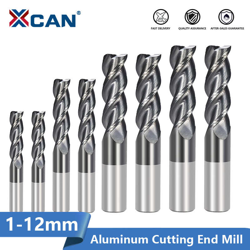 CHENWN 1Pc Extra Long 100Mm 4F Carbide End Mill Diameter from 4 to 8Mm HRC50 CNC Milling Cutter,D421100L