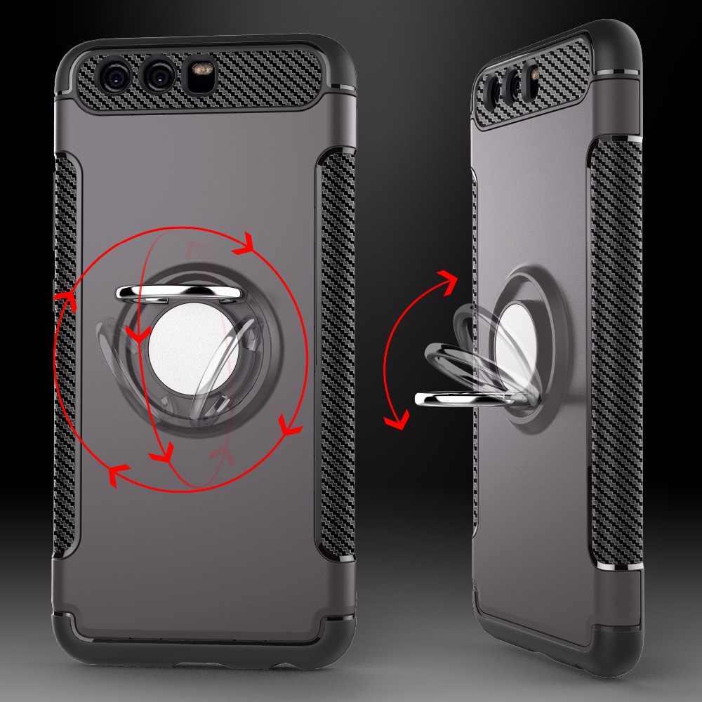 Защитный чехол для huawei P20 P30 Pro P10 Lite P Smart 2019 Plus Honor 8 9 10 8X7X8 S mate 10 20 Nova 3 3i держатель противоударный чехол