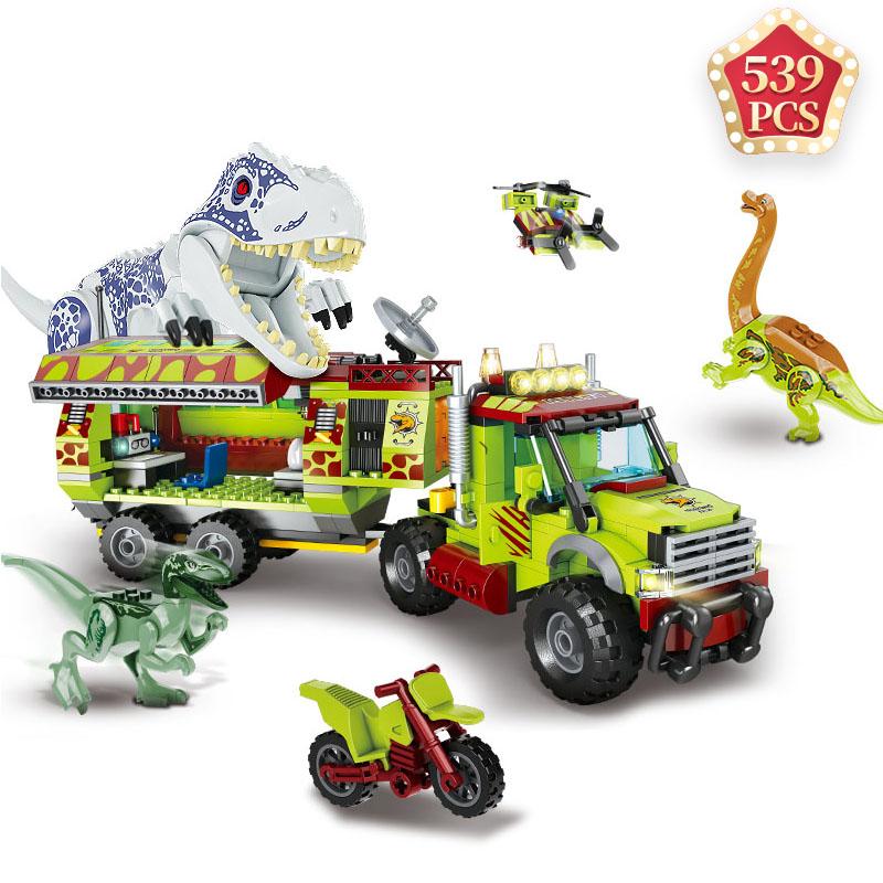 Ideas Creator Jurassic Dinosaur Animal Park World 2 Building Blocks Kit  Bricks Toys for Children Kids Holiday Gift