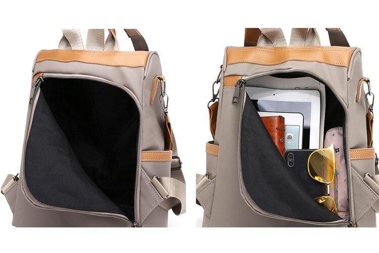 Hfb131744050f4f72bf7d964603fa102bv Anti-theft women backpacks ladies large capacity backpack high quality bagpack waterproof Oxford women backpack sac a dos