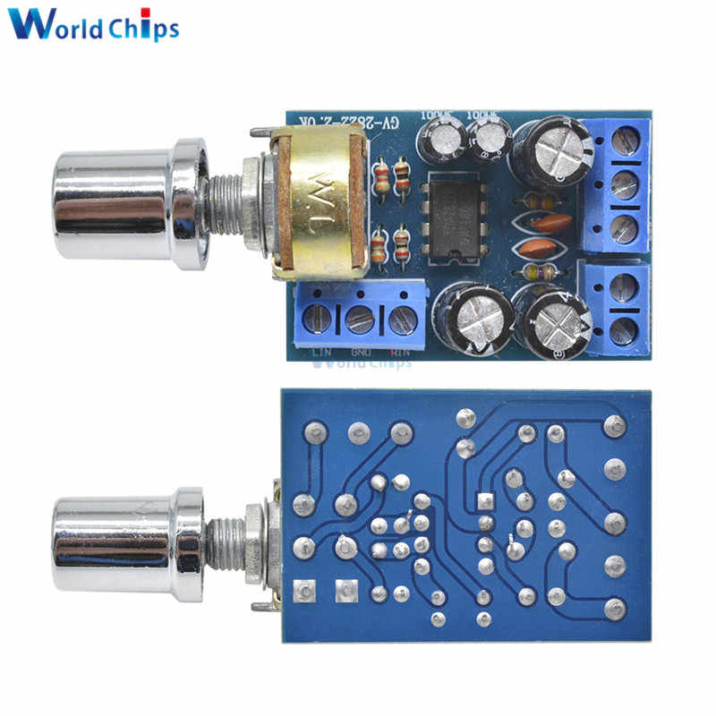 تيار مستمر 1.8-12 فولت TDA2822M مضخم الصوت وحدة 2*1 واط المزدوج قناة ستيريو الصوت مكبر كهربائي المجلس مع الجهد التبديل