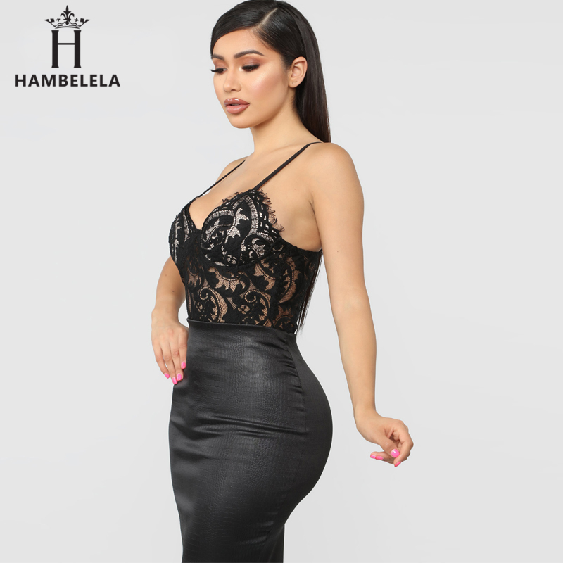 HAMBELELA Skinny Party Club Bodysuit Top Floral Lace Bodysuits Women Erotic Bodycon Overalls Hollow Out Sexy Slim Bodysuits (7)