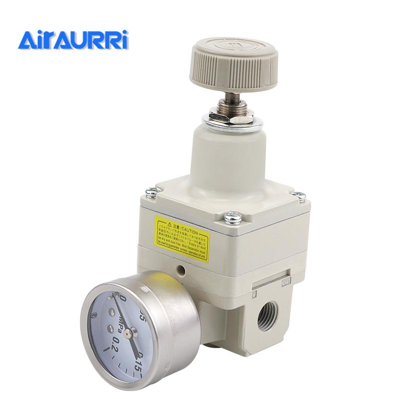 SMC size precision pressure regulator IR2000-02BG regulator Pressure reducing valve