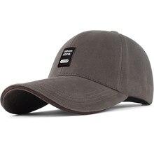 Gorra de béisbol de algodón puro para hombre, sombrero versátil informal para el Sol, para exteriores, primavera y otoño