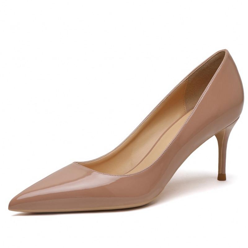 Купить большой размеры дамские модные туфли лодочки на тонких высоких