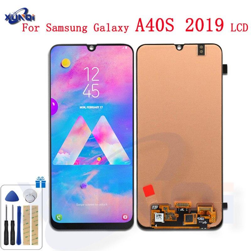 Оригинальный ЖК дисплей для samsung Galaxy A40s 2019 A407 A407F, сенсорный ЖК экран, дигитайзер, стекло в сборе, запасные части, бесплатная доставка