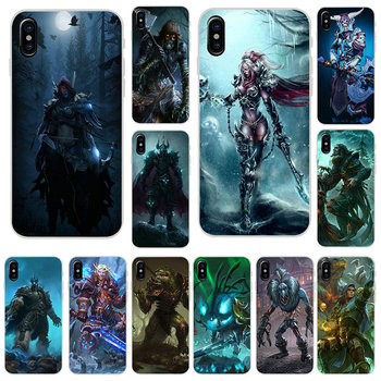 Soft TPU Silicone Phone Cases for iPhone X XR XS 11 Pro Max 6 6S 7 8 Plus 4 4S 5 5S SE 5C Bags Games Lich King Stormrage image