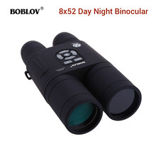 Digital 8x52mm Night Vision Telescope Spotting Scope Infrared Binocular For Bird Watching Hunting Outdoor Optics Eyepiece(China)