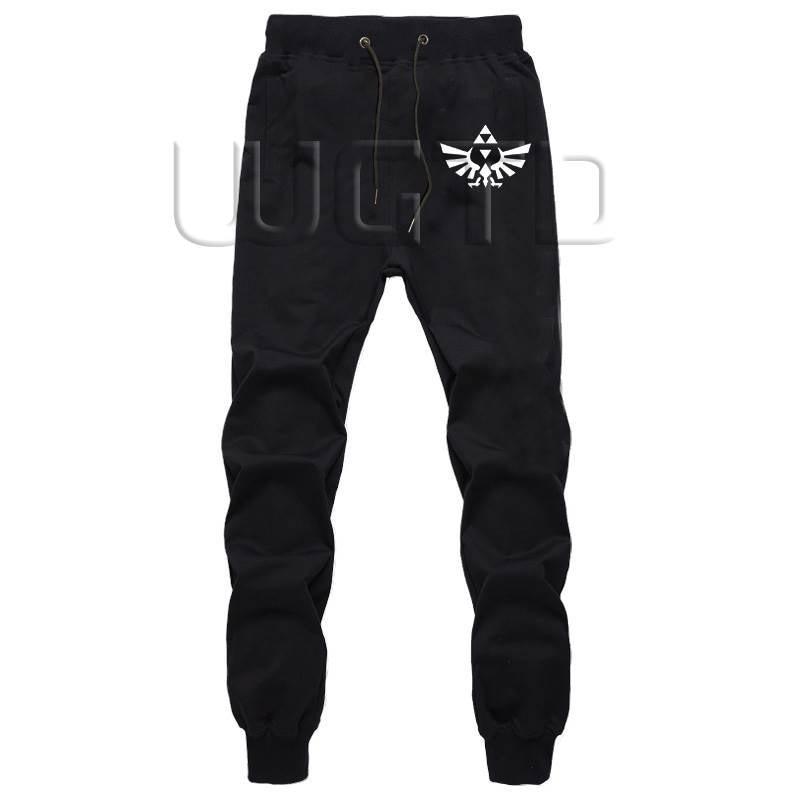 The Legend Of Zelda Men Sportswear Pants Fitness Long Trousers Harem Pants Workout Sweatpants Autumn Winter Joggers Casual Pants