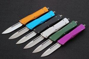 Image 3 - וספה סכין להב: S35VN (D/ES/E), ידית: אלומיניום, קמפינג הישרדות חיצוני EDC ציד טקטי כלי ארוחת ערב מטבח סכין