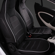Car Leather Seat Cover Interior Decoration Styling Accessories For 2015 2019 Mercedes Smart 453 fortwo Protection cushion