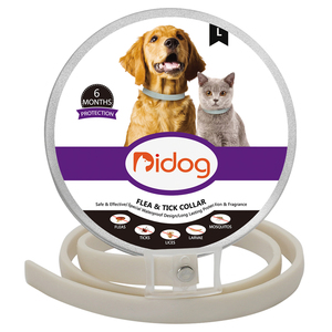 Anti Flea Dog Collar Remove Fleas Tick Dogs Cat Collars Outdoor Mosquito Lice Repellent Long-term Protection Pet Supplies(China)