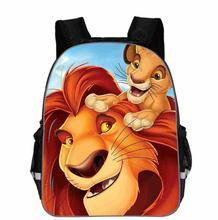 Simba król lew plecak dla dzieci chłopcy Cartoon król lew torby szkolne dla dzieci dziewczyny przedszkole dla dzieci przedszkole tanie tanio KKABBYII Poliester Miękki uchwyt Unisex Miękka NONE Łukowaty pasek na ramię Na co dzień CC941 zipper 20-35 litr Plecaki
