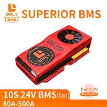 Batería LTO BMS 10S 80A 100A 150A 200A 300A 500A 2,4 V con Balance para paquetes de baterías de titanato de litio de 12V/24V/36V/48V/60V/84V