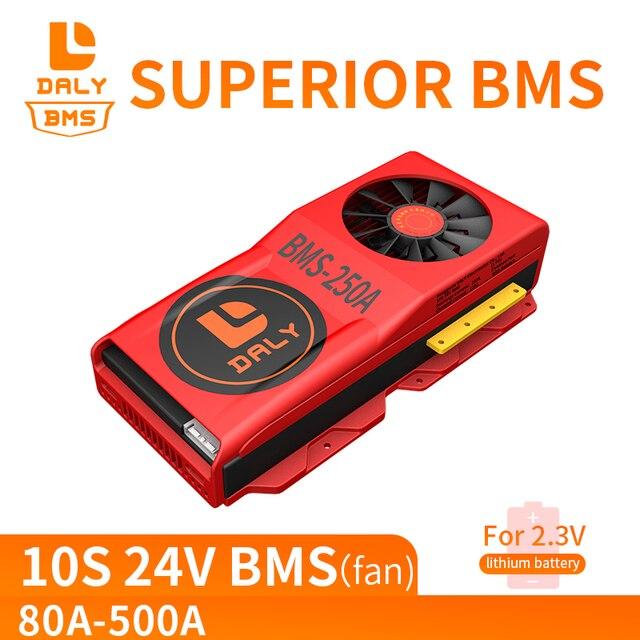 Battery LTO BMS 10S 80A 100A 150A 200A 300A 500A 2.4V With Balance For 12V/24V/36V/48V/60V/84V Lithium Titanate Battery Packs