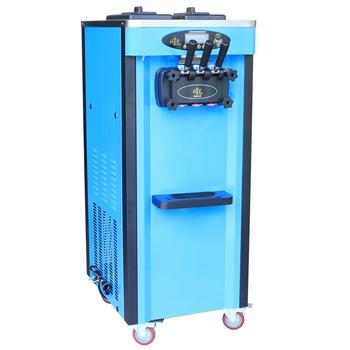 2020 popularny wysokiej jakości 110 220V tabela instant lody zwijarka maszyna do lodów miękkie służyć tanie i dobre opinie Linboss 1501 ml BL25Q Chłodzenie powietrzem 6 5L *2 2000w 220V 110V 50 60 Hz 56*71 5*138cm 110kg R22 R410A