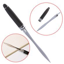 1PCS Useful Black Office School Letter Opener Cut Paper Tool