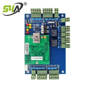 Image 4 - Dört kapı ağ erişim kontrol paneli kurulu yazılım ile iletişim protokolü tcp/ip kartı Wiegand okuyucu 4 kapı kullanımı