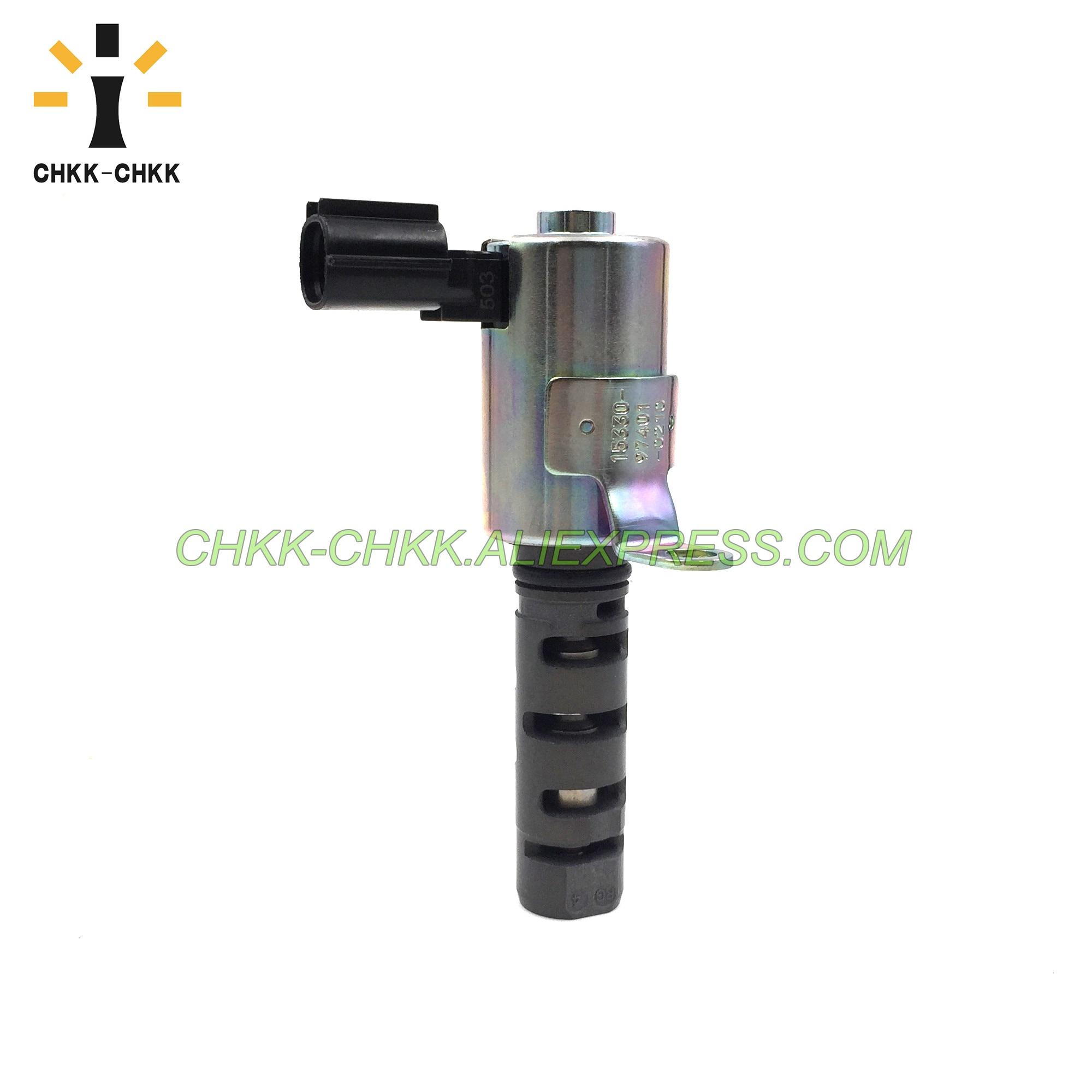 CHKK-CHKK Engine Camshaft Timing Oil Control Valve OEM 15330-97401 for 2000-2003 TOYOTA SPARKY S221E,S231E 1533097401