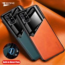 A51 Fall Zroteve Coque Für Samsung Galaxy A71 5G A91 A81 A12 Abdeckung A31 A41 A42 A21S M21 M31 S M30S M51 A52 A72 PU Leder Fällen