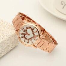 New Luxury Wrist Watch for Women Stylish gold steel Bracelet strap Ladies Watches Relogio Feminino Reloj Mujer Metal Wristwatch