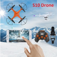 S10 Drone Toy UAV & One Key To Take Of f & 4CH FPV 3.0MP camera drones & Remote Control Aircraft toy for kid for christmas