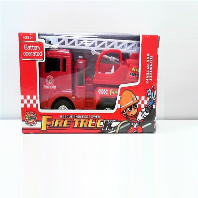 Electric Universal Fire Truck Children Model Fire Truck Model Toy Educational Early Childhood Boy City Toy Car