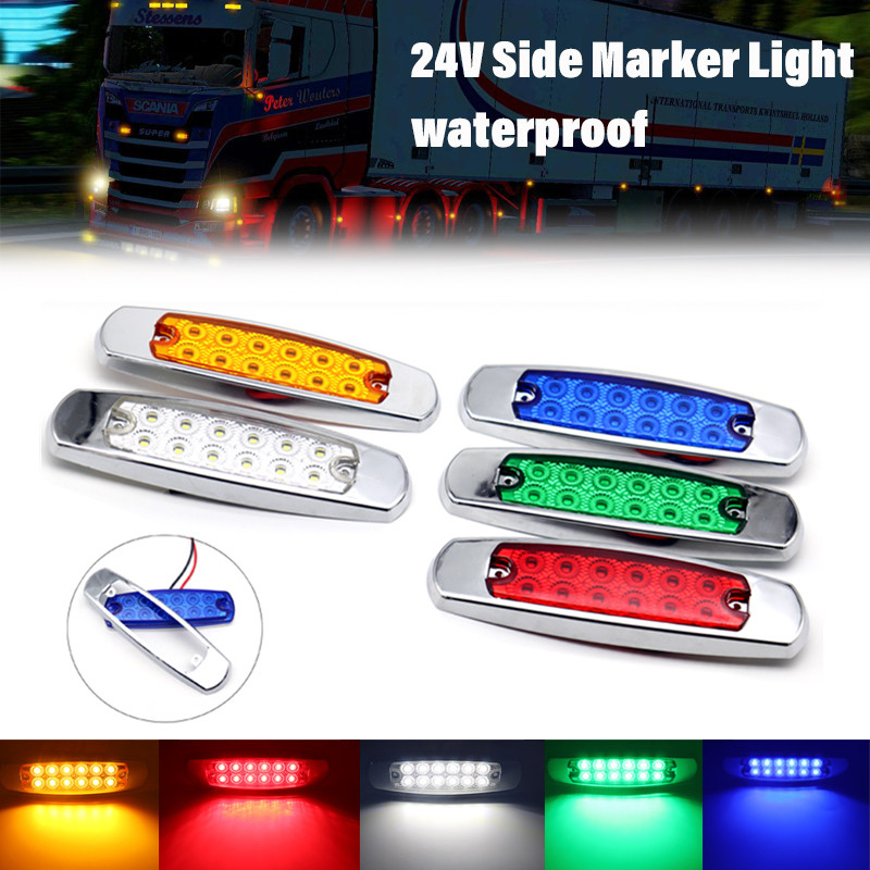 Led 24v Side Marker Lights Indicator
