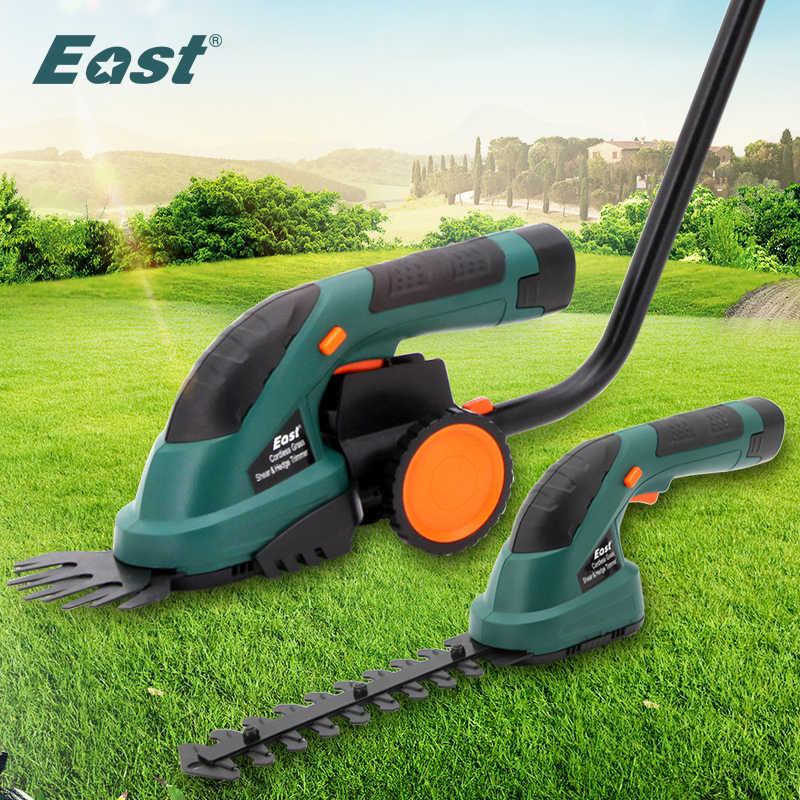 מזרח ET1502 כוח כלים 7.2V קומבו דשא מכסחת ליתיום נטענת גידור גוזם דשא חותך אלחוטי גן כלים