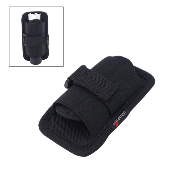 Flashlight Holster Tactical 360 Degrees Cover Holder Pouch Torch Case Hunting Rotatable For Belt Torch Lighting Accessories