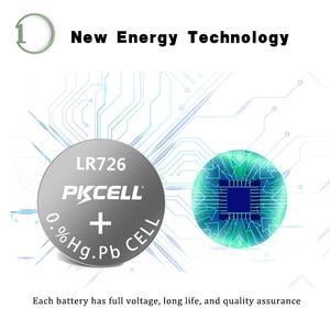 Image 2 - 100 個/10 カードAG2 1.5v 396 SR726SW SR59 726 LR59 0% 水銀ボタン電池弾丸の卵腕時計電卓リモコン