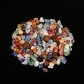 50 г натуральный смешанный кварцевый хрустальный камень, гравий, образец, бак, Декор, натуральные камни и минералы, поделки для украшения дом...