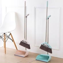 Dustpan-Set Brush Broom Floor-Cleaner Cleaning-Tool Household And Home Soft-Bristle Office