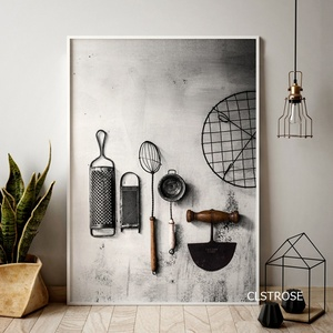 Nordic Modern Style Kitchen Utensils And Appliances Posters Art Canvas Pictures For Living Room Home Decor Painting Unframed